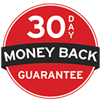 100%  Money Back Guarantee with Trend Micro Security Icon